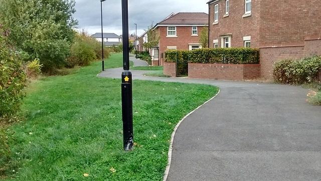 Waymarked path HO6