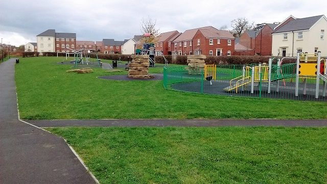 The Furlongs play area
