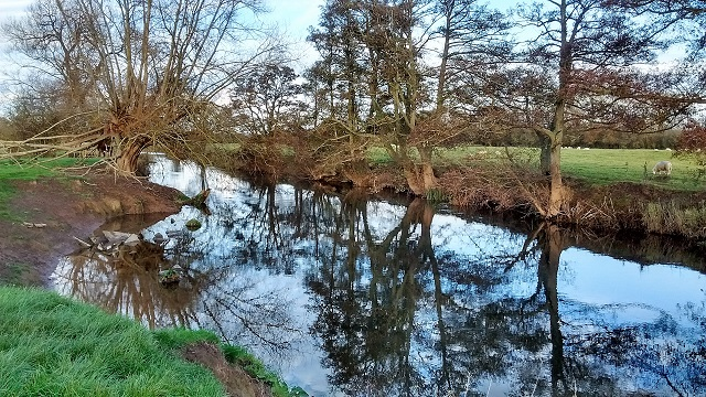 River Lugg from HO17