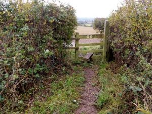HO4 stile cleared at SO 509 433 and cross step firmed up